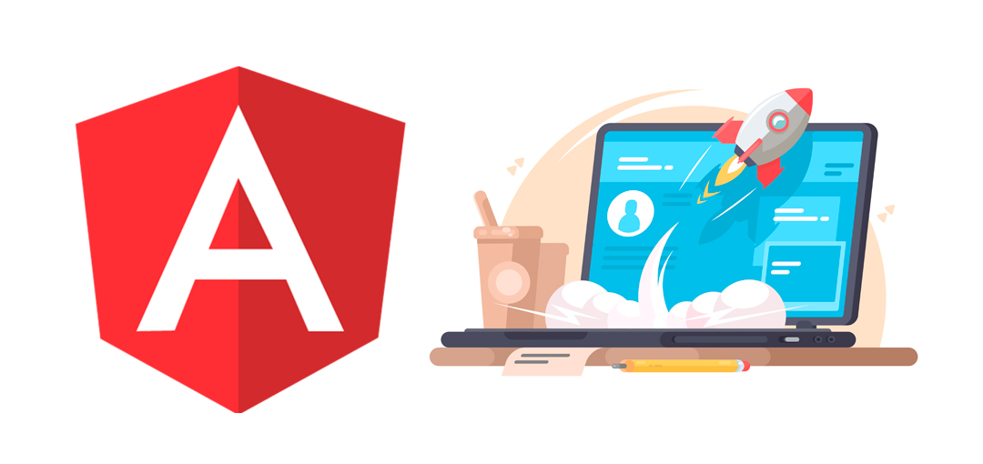 Web app development with angular